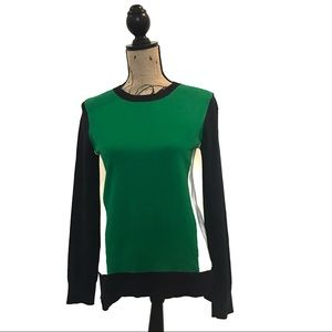 {Michael Kors} color block sweater-Dark Midnight